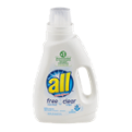 All Liquid Detergent Free Clear 2x Concentrate 46.5oz BTL