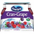 Ocean Spray Cran-Grape Juice Drink 6PK of 10oz EA