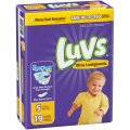 Luvs Diapers Size 5 (Over 27LB) Jumbo Pack 25CT