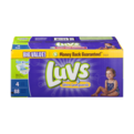 Luvs Diapers Size 4 (22-37LB) Family Pack 88CT PKG