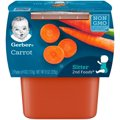 Gerber 2nd Foods Carrots All Natural 4oz 2PK