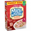 Kellogg's Frosted Mini Wheats Strawberry 15.5oz Box