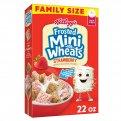 Kellogg's Frosted Mini Wheats Strawberry 15.5oz Box