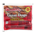 Gwaltney Chicken Hot Dogs 8CT 16oz PKG
