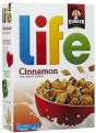 Quaker Life Cereal Cinnamon 18oz Box
