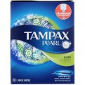 Tampax Pearl Tampons Super Absorbency w Plastic Applicator Unscented 18CT