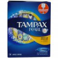 Tampax Pearl Tampons Regular Absorbency w Plastic Applicator Unscented 18CT