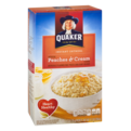 Quaker Instant Oatmeal Peaches & Cream 10PK 12.3oz Box