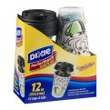 Dixie Grab N Go Cups With Lids 14CT 12oz Each
