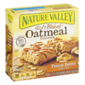 Nature Valley Soft Baked Oatmeal Squares Peanut Butter 6CT 7.44oz PKG