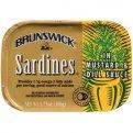 Brunswick Sardines in Mustard & Dill 3.75oz PKG