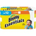 Bounty Basic Paper Towels Giant Rolls 72 1-Ply Sheets 8CT
