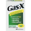 Gas-X Extra Strength Soft Gel 10CT