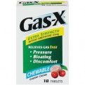 Gas-X Extra Strength Chewable Cherry Creme Tablets 18CT