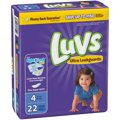 Luvs Diapers Size 4 (22-37LB) Jumbo Pack 29CT PKG