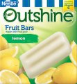 Nestle Frozen Outshine Fruit Bars Lemon 6CT 2.75oz Bars 16oz Box