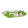 Seventh Generation Unscented Baby Wipes w Aloe 64CT