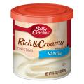 General Mills Betty Crocker Rich & Creamy Cake Frosting Vanilla 16oz Can