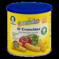 Gerber Graduates Lil Crunchies Baked Corn Snack Veggie Dip 1.48oz