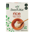 Beech-Nut Baby Cereal Single Grain Rice 8oz PKG