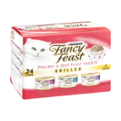 Fancy Feast 3 Flavor Variety Pack Grilled Poultry and Beef 24CT of 3oz Cans 72oz PKG