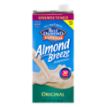 Almond Breeze Unsweetened Original Non-Dairy Beverage 32oz CTN