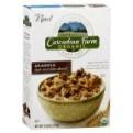 Cascadian Farm Organic Cereal Dark Chocolate Almond Granola 13.25oz Box