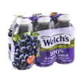 Welch's Grape 100% Juice From Concentrate 6PK of 10oz BTLS