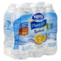 Nestle Pure Life Splash Water Mandarin Orange Splash 6PK of 16.9oz Bottles