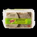 Scotch-Brite Greener Clean Natural Fiber Non-Scratch Scrub Sponge 3CT