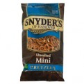 Snyder's of Hanover Mini Pretzels Unsalted 12oz Bag