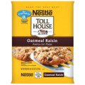 Nestle Toll House Cookie Dough Oatmeal Raisin 24CT 16.5oz PKG