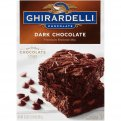 Ghirardelli Brownie Mix Dark Chocolate 20oz Box