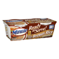 Minute Ready To Serve Natural Whole Grain Brown Rice 2CT 4.4oz EA 8.8oz PKG