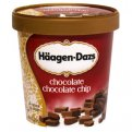 Haagen Dazs Ice Cream Chocolate Chocolate Chip 14oz PKG