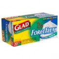 Glad Drawstring ForceFlex Tall Kitchen Bags 13 Gallon 20CT