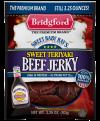 Bridgford Sweet Baby Rays's Beef Jerky Sweet Teriyaki 3.25oz PKG