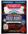 Bridgford Beef Jerky Teriyaki 3oz PKG