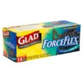 Glad Drawstring ForceFlex Large Trash Bags 30 Gallon 14CT