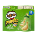 Pringles Snack Stacks Sour Cream & Onion Potato Crisps .74oz EA 8CT 5.92oz PKG