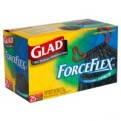 Glad Drawstring ForceFlex Large Trash Bags 30 Gallon 25CT