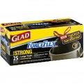 Glad Drawstring ForceFlex Large Trash Bags 30 Gallon 25CT