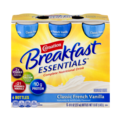 Carnation Instant Breakfast Essentials Drink Classic French Vanilla 6PK of 8oz BTLS