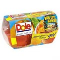 Dole Mandarins in Orange Gel 4.3oz EA 4CT 17.2oz PKG