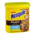 Nestle Nesquik Chocolate Flavor Powder Drink Mix 18.7oz PKG