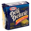 Kraft Deli Deluxe American Cheese Singles 16CT 12oz PKG