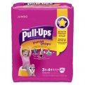 Huggies Pull-Ups Training Pants Learning Designs 3T-4T Girls 22CT PKG