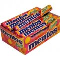 Mentos Chewy Mint Candy Fruit Flavor 15 Roll Pack 1.32oz EA Roll