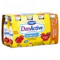 Dannon DanActive Immunity  Drinkable Yogurt Strawberry 8PK of 3.1oz EA