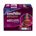 Goodnites Girls Underpants Small Medium 38-65LB Mega Pack 33CT